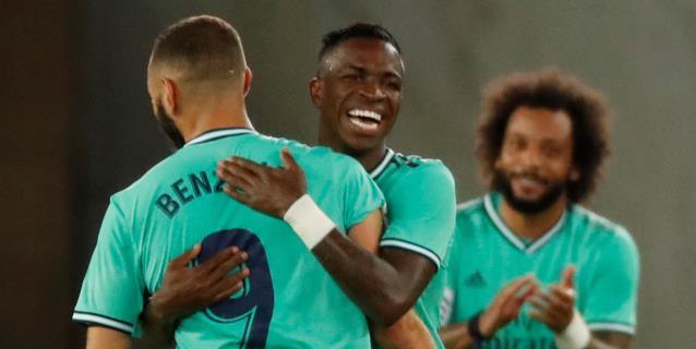 1-2. Sergio Ramos y Benzema dan el liderato al Real Madrid