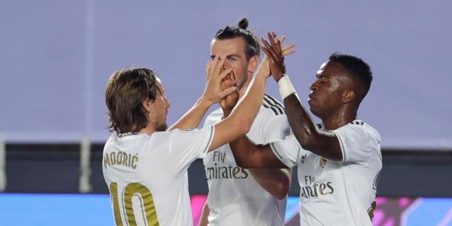 2-0. Vinicius y Ramos solventan la primera defensa del liderato