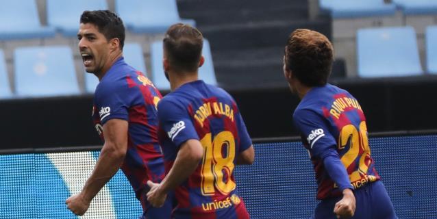Luis Suárez se reencuentra con el gol casi medio año después
