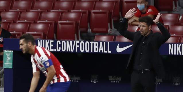"""Simeone: """"No variaremos mucho de lo que somos; un equipo fuerte y defensivo"""""""