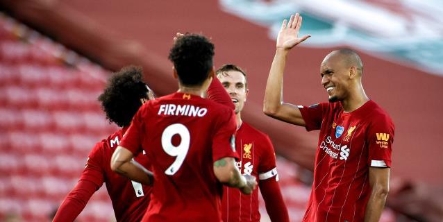 El Liverpool golea al Palace y podría ser campeón este jueves