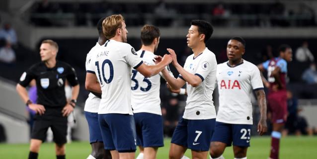 La suerte se alía con el Tottenham para batir al West Ham