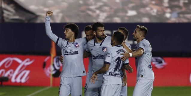 0-5. El Atlético y Joao Felix se exhiben en Pamplona