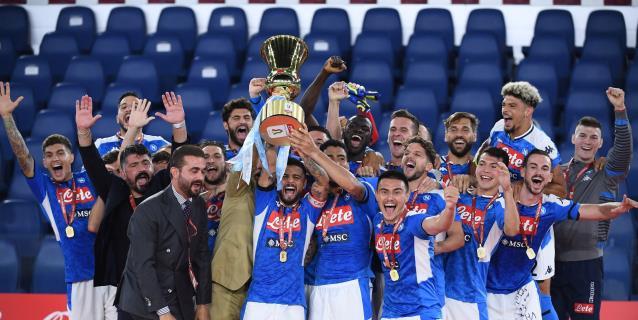 0-0 (4-2). El Nápoles vence al Juventus en los penaltis y gana la Copa Italia