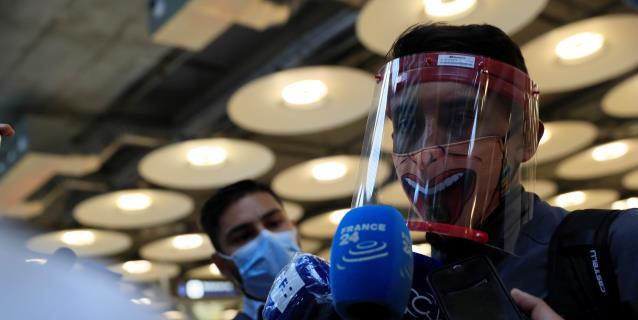 El 'Vuelo del deporte' colombiano aterriza en Madrid repleto de ilusión
