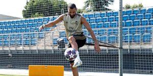 """Benzema: """"Queremos continuar como estábamos en liga y ganar frente al City"""""""