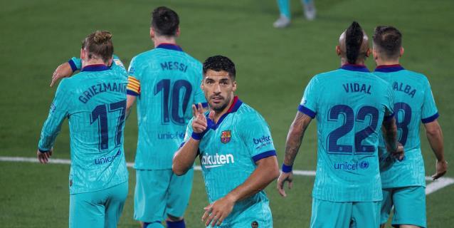 1-4. Messi se resiste a tirar la Liga y acaba con la racha del Villarreal