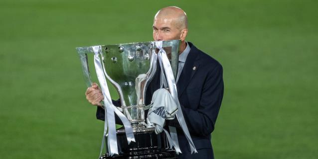 Triunfador Zidane, histórico Diego Martínez