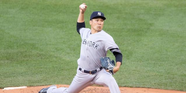 BÉISBOL GRANDES LIGAS: Tanaka regresa al campo de entrenamiento luego de sufrir una conmoción leve