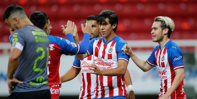 2-0. El Guadalajara debuta en la Copa por México con una victoria ante el Atlas
