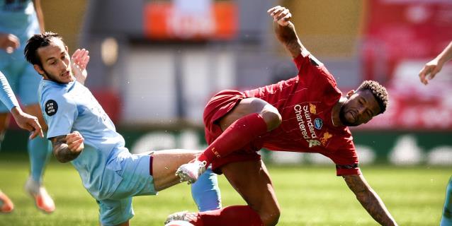 El Liverpool no pasa del empate ante el Burnley y compromete el récord