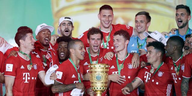 2-4. El Bayern logra el doblete con un triunfo ante el Leverkusen