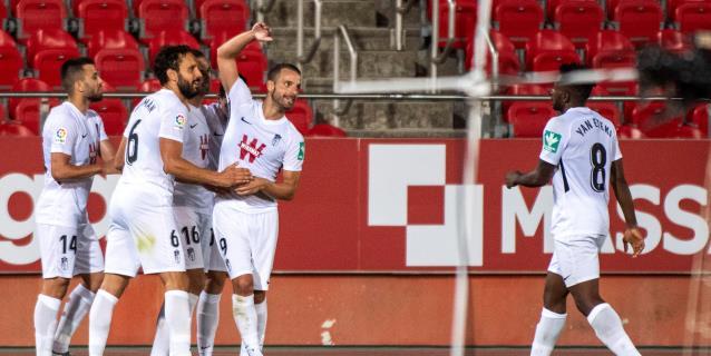 1-2. El Mallorca desciende y el Granada sueña con Europa