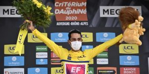 "CICLISMO: Daniel Martínez conquista una ""loca"" Dauphiné, Kuus gana en Megéve"