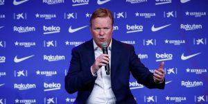 Koeman, nuevo entrenador del Barcelona hasta el 30 de junio de 2022