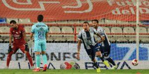 4-3. Pachuca vence al Mazatlán FC con gol de Guzmán, en su reaparición