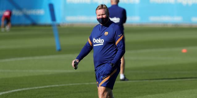Messi y Rakitic ausentes en el primer entrenamiento de la era Koeman