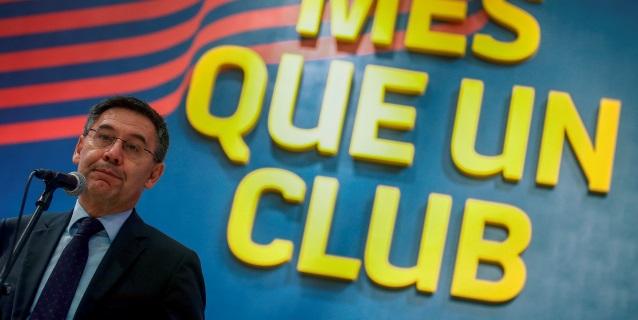 Bartomeu: Tenemos una crisis deportiva, no institucional; Messi es intransferible