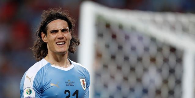 Cavani deja Uruguay rumbo a Europa con la mira puesta en el Benfica