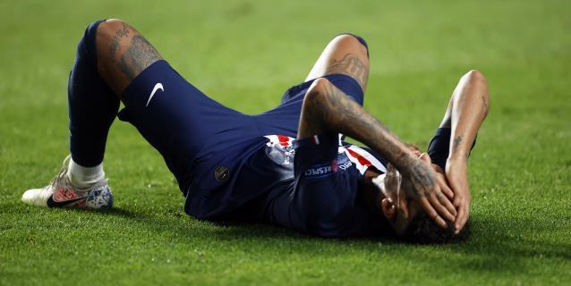 Las lágrimas de Neymar