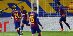 3-1. El Barcelona encarrila el pase a cuartos en la primera parte