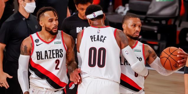 NBA: 110-102. Lillard y Anthony acaban con racha ganadora de Rockets