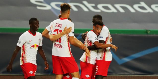 2-1. Fiasco del Atlético, un Leipzig superior avanza
