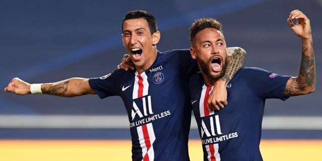 Neymar, Di María y Paredes son los positivos del PSG, según L'Equipe