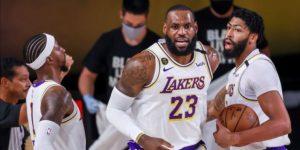 119-96. Los Lakers, con James, 10 años después vuelven a las finales del Oeste