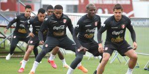 Selección peruana cumplió su tercer día de entrenamientos
