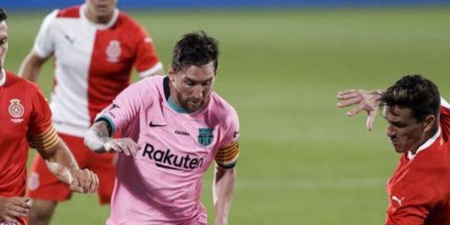 3-1. Messi se estrena con un doblete en partido de pretemporada