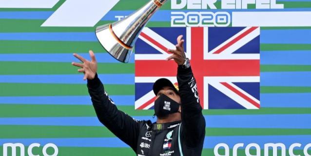 """Hamilton gana en Alemania. """"Nadie se puede igualar a Schumacher"""""""