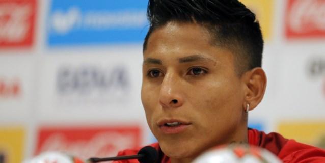 El momento de Ruidíaz, único superviviente del ataque de Perú