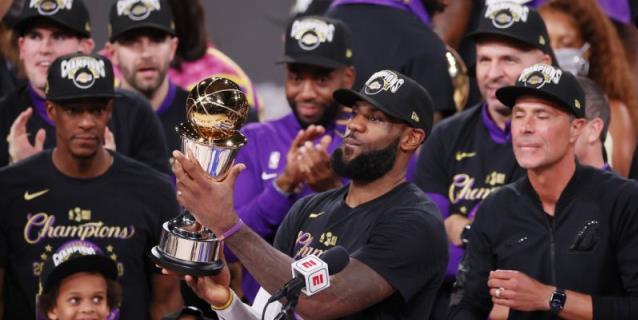 LeBron James, con su cuarto título y MVP, sigue a la caza de Michael Jordan