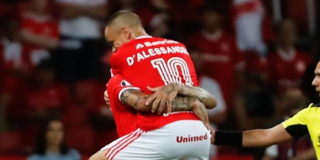 Internacional y Libertad obtienen los dos últimos pases a octavos de final de la Libertadores