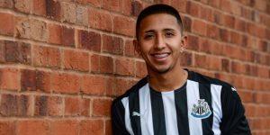 Rodrigo Vilca fue presentado hoy como jugador del Newcastle United de Inglaterra