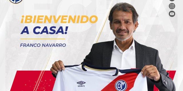 Franco Navarro es el nuevo técnico del Deportivo Municipal
