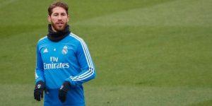 Sergio Ramos se entrena en solitario