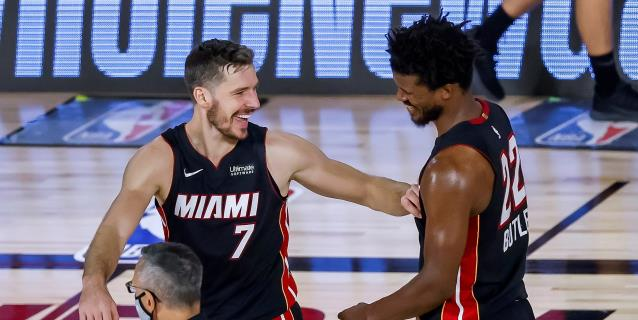 116-108. Butler se acerca al triple-doble ante Raptors y los Heat vuelven a ganar