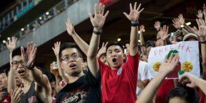 La bancarrota llega al fútbol chino