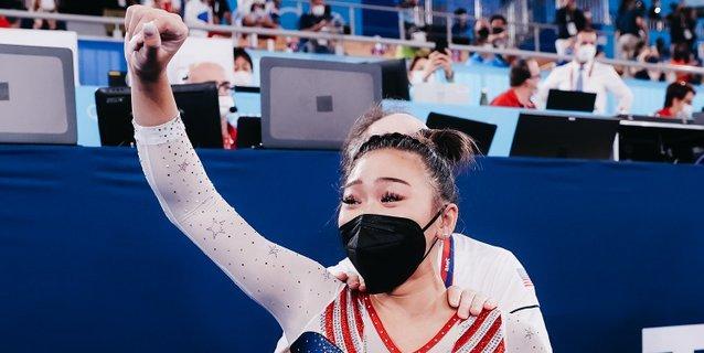Sunisa Lee campeona por delante de Andrade, primera medallista brasileña
