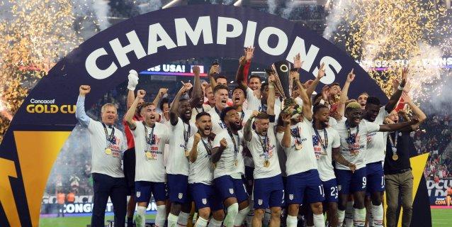 Estados Unidos conquista Copa Oro tras vencer a México en tiempo extra